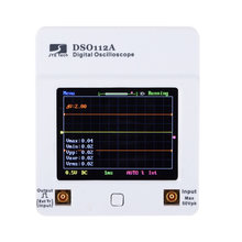 Draagbare Touch Screen Mini Digitale Oscilloscoop DSO 112A TFT USB Oscilloscoop Interface 2MHz 5Msps(China)