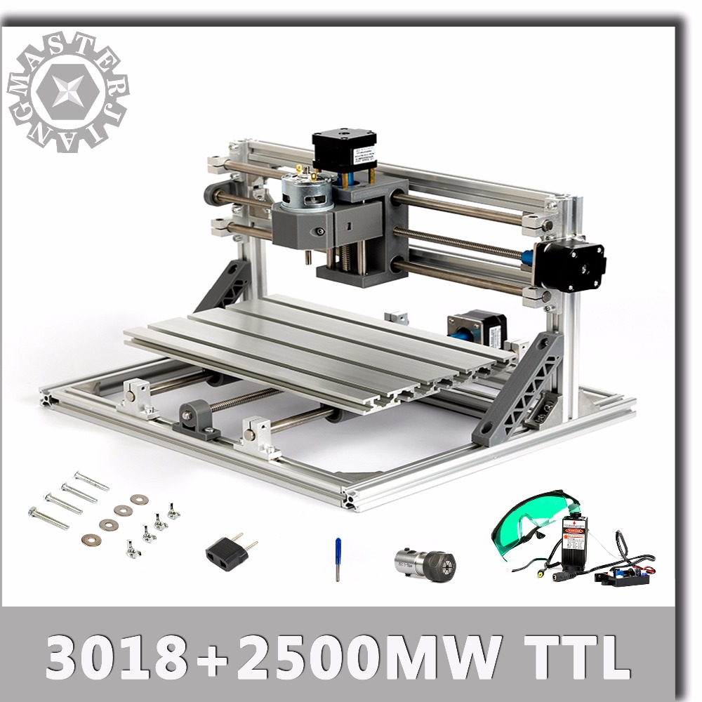 3 Axis DIY Laser Engraving Machine CNC Milling Router Kit Control Card Board TTL