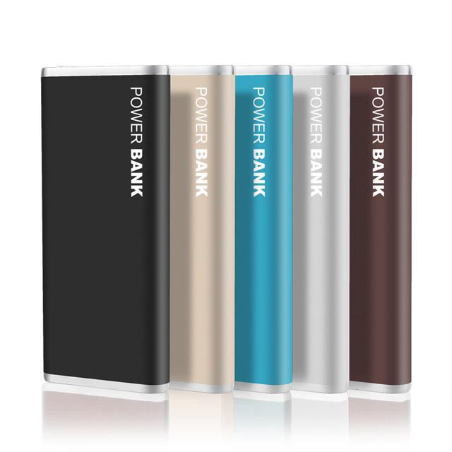 Dcae polímero ultra-delgado banco de la energía 10000 mah powerbank portátil cargador de batería externa para huawei lenovo xiaomi iphone