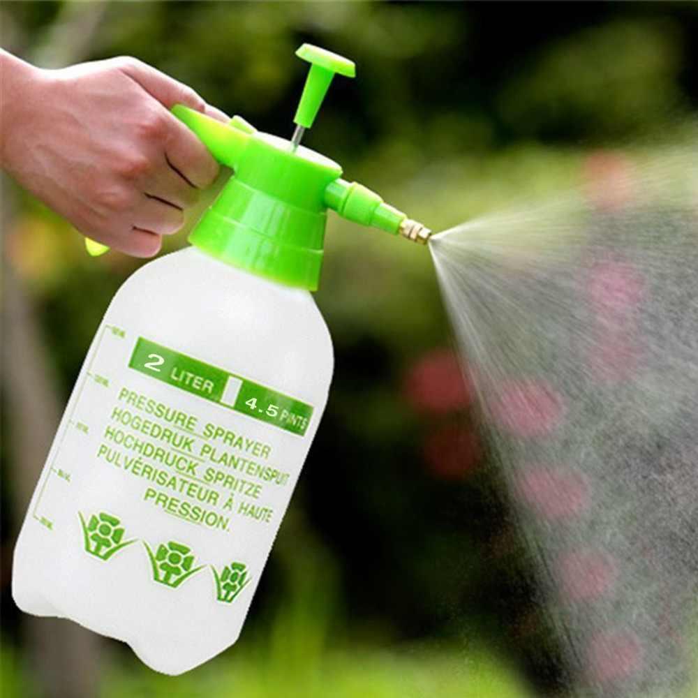 Saim 2L ضغط حديقة رذاذ زجاجة يده البخاخ المنزل مضخة مياه البخاخ غسيل السيارات البستنة الرش زجاجة رش