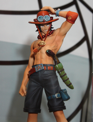 2pcs/lot 17cm Anime One Piece Action Figure – Monkey D Luffy And Brother Ace