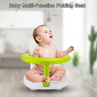 Newborn Infant Bath Shower Seat Support Non slip Baby Bath Mat Folding Baby Bath Mat For Bathtub Toddler Multi Function Chair