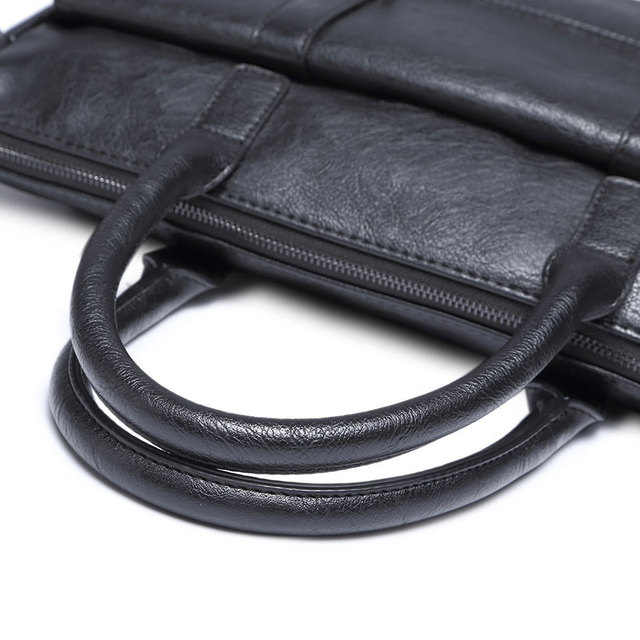 Classic PU Leather Briefcases for Men