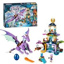 цена на 10549 BELA Elves The Dragon Sanctuary Building Bricks Blocks Kit Educational Toys Compatible with Lepine 41178 Toys For Girls