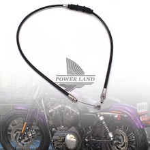 140CM 160CM 180CM Motorcycle Scooter Parts Black Clutch Control Cable Line 1pcs For Harley XL883 1200N oodji 11411122m 45190 1200n