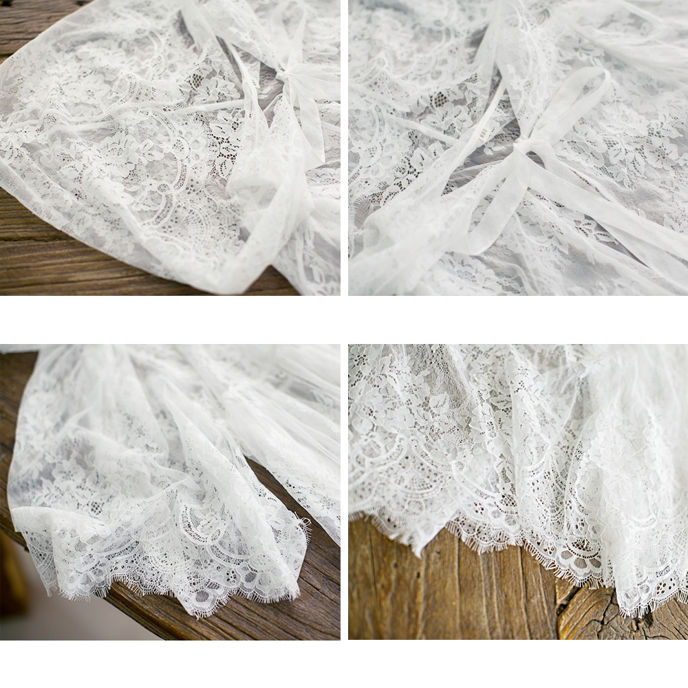 MM159 Nieuwe Collectie 2017 zomer uitloper vrouwen vintage x lange wimper kant shirt capuchon vest wit - 6