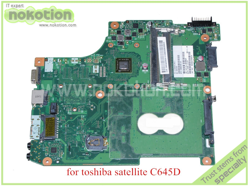 6050A2414501-MB-A02 CT10ABABG PN 1310A2414511 SPS V000238110 For toshiba satellite C645D laptop motherboard ddr3