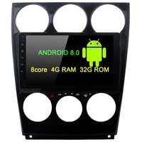 9 Car Radio Android 8.0 Multimedia Player for Mazda 6 GPS 2006 2007 2008 2009 2010 2011 2012 2013 Head Unit 4G 32G Octa core