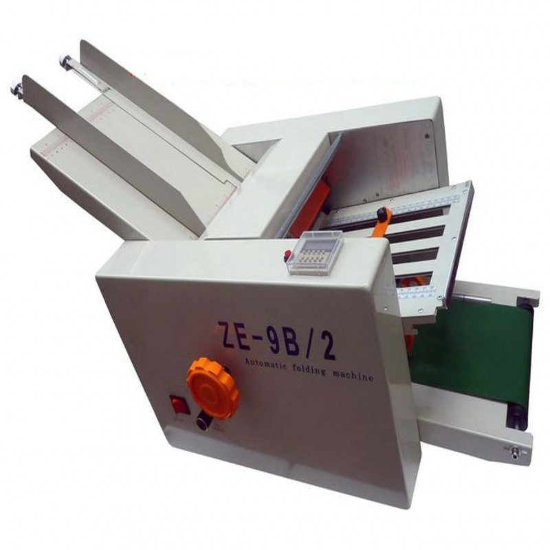 Automatic paper folding machine max paper 210x420mm, high speed, 2 folding trays, large work load for user manual