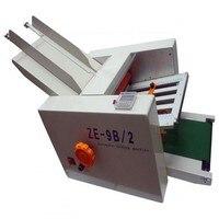 Automatische papier vouwen machine max papier 210x420mm  hoge snelheid  2 vouwen trays  grote werklast voor handleiding