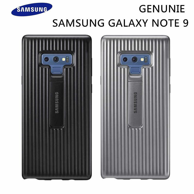 Original Samsung Galaxy Note 9 Rugged Protective Cover Kickstand Standing Case EF-RN960 Black Silver Shockproof Anti-fall