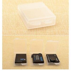 Image 5 - 6 pièces boîtier de batterie Transparent batterie de protection boîte de rangement étanche à lhumidité boîte pour Gopro Hero 7 6 5 noir Xiaomi Yi caméra
