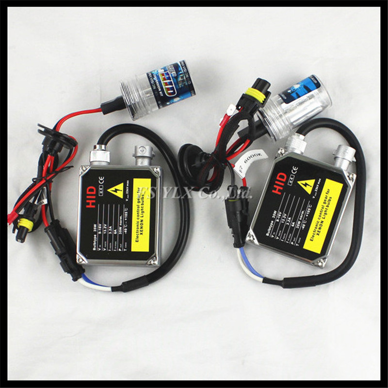 35W AC H9 Xenon HID headlight bulb ballast H9 Car HID headlight Conversion kit 4300K 6000K 8000K H9 HID head light fog lamp Kit  55w xenon hid kit aluminum shell ballast bulb 3000k 15000k car conversion headlight head light for is250 2006 2013