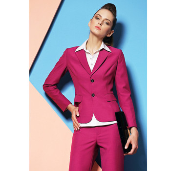 Rushed Full Newest Elegant Fashion Hot Women Formal Suits For Business Professional Sleeve Spring Autumn Career Sets