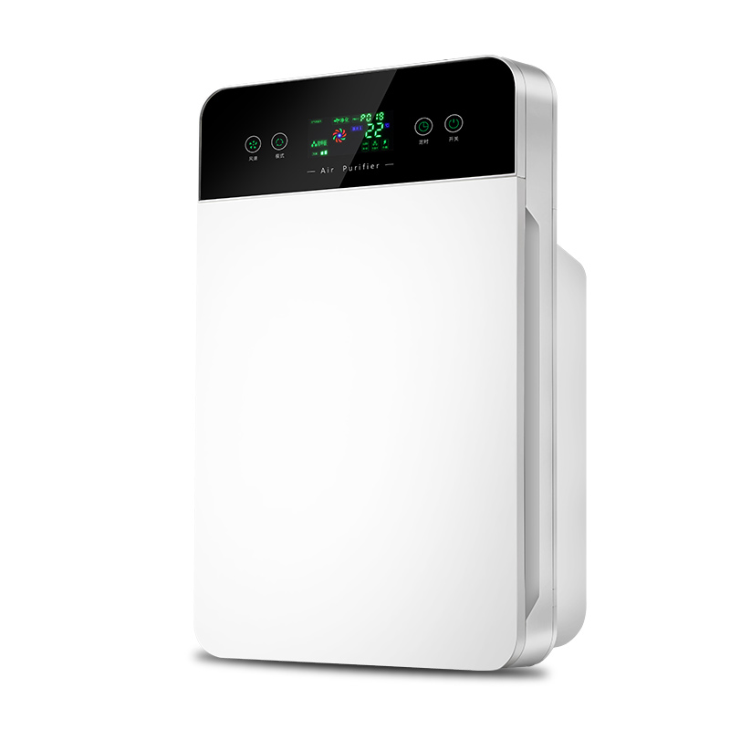 Air Cleaner Small-scale Household Mini Indoor Bedroom Mute Formaldehyde Removal Smoke Removal Remove Dust Anion Oxygen Bar home mute air purifier removal of formaldehyde negative ions bedroom remove haze activated carbon intelligent oxygen bar