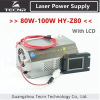 80W 100W CO2 Laser Power Supply Monitor AC90 250V for Laser Engraving Cutting Machine HY Z80