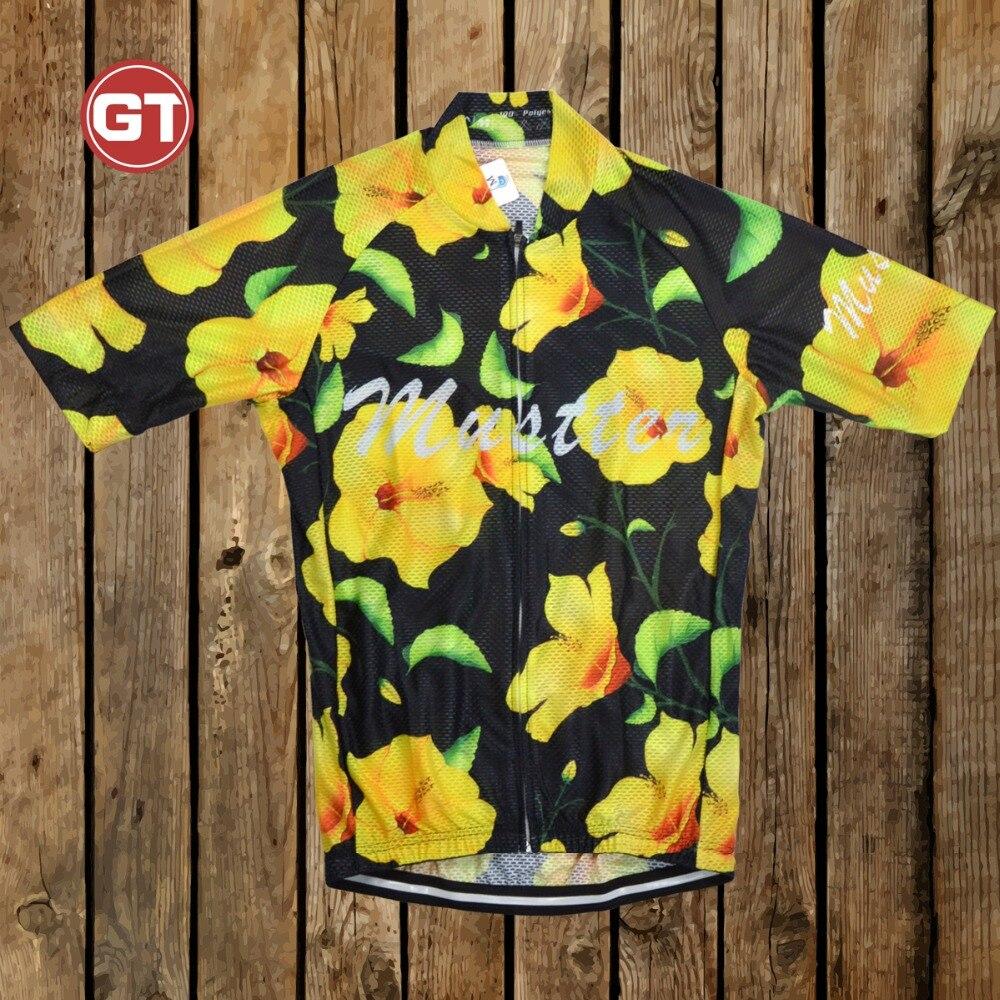 Prix pour Cyclisme jersey gtmustter super respirant d'été vtt vélo court clothing ropa maillot ciclismo sportwear vélo vêtements # ln-20