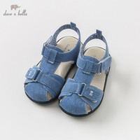 DB9710 Dave Bella summer baby boy sandals new born prewalkers infant shoes boy blue sandals casual shoes