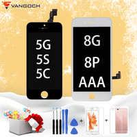 Neue AAA Qualität LCD Für iPhone 5G 5S 5C LCD Display Montage Ersatz Für iPhone 8G 8 plus LCD Mit 3D Touchscreen