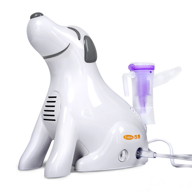 Hot sale medical home health care portable inhaler mini dog cartoon designed sprayer children adult nebulizer cofoe portable ultrasonic nebulizer medical home health care portable inhaler mini dolphins cartoon designed 2017 free shipping