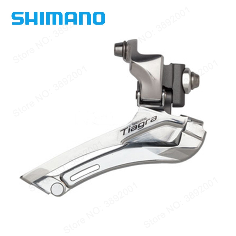 SHIMANO Tiagra FD-4600 20 speed Front Derailleurs 4600 Road Bicycle For Tour and Relaxing Bike Components Parts все цены
