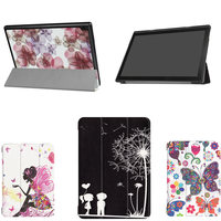 For Tab 4 10 TB X304N Cases 10 1 Tablet With Magnetic PU Leather Case For
