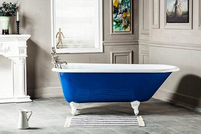 Vasche Da Bagno Ghisa Prezzi : Impero vasca da bagno in ghisa roma bagno italiano