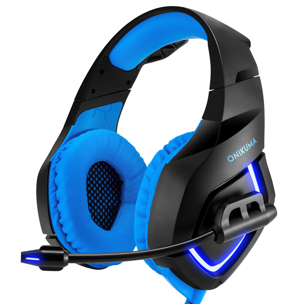 HIPERDEAL PC Gaming Headset for PS4 3.5mm Stereo USB LED Headphones With Microphone Drop Shipping 2A3