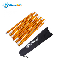 Shinetrip New 19mm Thick Tent Rod Outdoor Camping Tent Pole Aluminum Alloy Rod Spare Replacement Tent