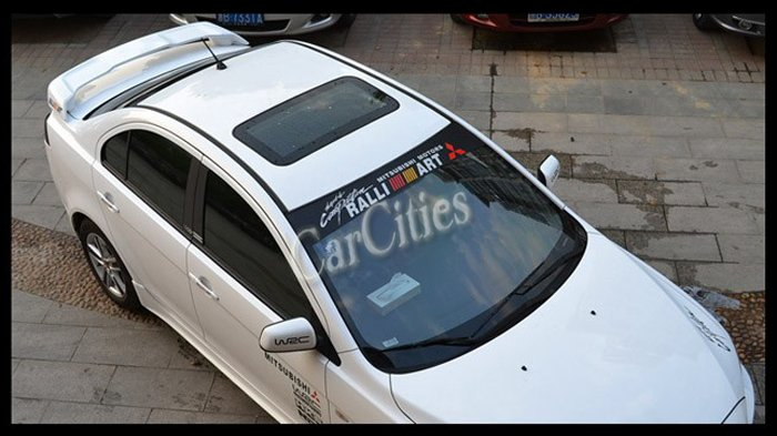 NEW FASHION M Car Windshield Vinyl Sticker Front Windshield - Front window stickers for car
