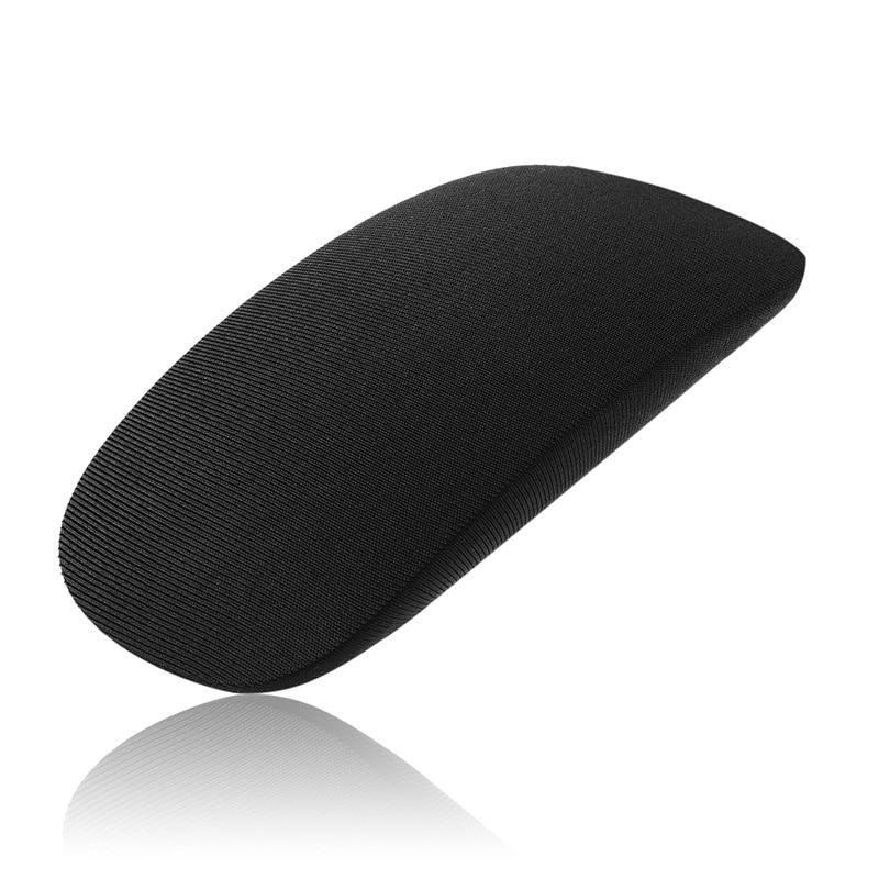 1 шт., мягкая кожа, защита от пыли и царапин, эластичная ткань для MAC, Apple, Magic mouse, защитный чехол для хранения LA008 - Цвет: Темно-серый