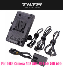 TILTA BT 003 V V Mountแผ่นแหล่งจ่ายไฟระบบ 15 มม.สำหรับกล้องDSLR 5D2 5D3 5D4 6D 70D 60D