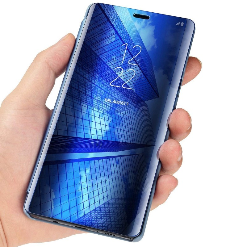 Mirror Smart Case For Huawei P Smart 2019 PU Leather