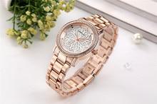 CRRJU luxury Dress Brand Fashion Watch Woman Ladies Rose gold Diamond relogio feminino Dress Clock female relojes mujer 2018 New