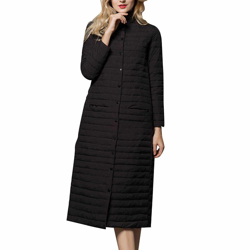 d599af342838 Женское легкое пуховое пальто, удлиненное пуховое пальто, женское удлиненное  легкое пуховое пальто выше колена