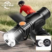 8000 Люмен usb Перезаряжаемые велосипедный светильник mtb велосипед