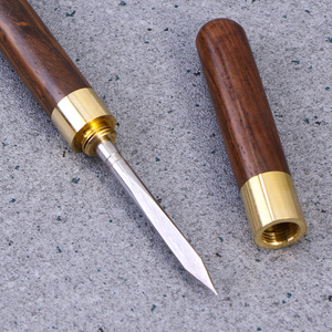 1/2pcs Kitchen Knife Ebony Rosewood Tea Knife Needle Pick With Wooden Handle Tea Knife For Puer Black Tea Tuos Biluochun Teaware(China)
