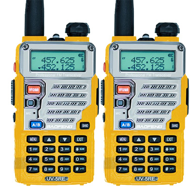 2PCS Baofeng UV-5RE Walkie Talkie UV-5R Upgraded Version UHF VHF Dual Watch UV 6R CB Radio VOX FM Transceiver for Hunting Radio