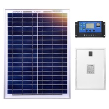 Dokio 18V 20W Solar Panel China Small Solar Battery Polycrystalline Silicon Paneles Solares Sets Kits Waterproof Outdoor Panels