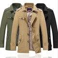 2015 NEW  Men's coat fashion jacket overcoat,outwear Free shipping men casual jaket