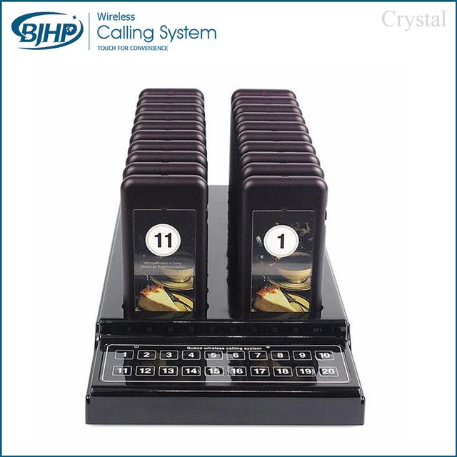 Restaurante orden AC-CTP320 electrónica dispositivo de visualización del número de llamada inalámbrica sistema de hotel servicio de buscapersonas