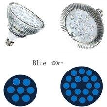 All Blue 450nm Par38 27W 54W LED Plant Grow Light E27 Hydroponic Indoor Plants Veg Growth Lamp
