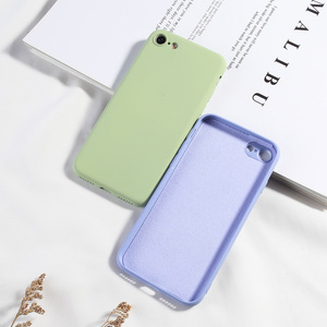Image 2 - Silikon Fall Für iPhone 7 8 6 6 s Plus X XR XS MAX Volle Abdeckung Weiche TPU Silikon Protector zurück Telefon Deckt Stoßfest Fundas
