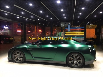 Best Quality Ston Green Matte Satin Metallic Vinyl Wrap Film Roll Air Bubble Free Vehicle Graphic Wrapping Foil Sheet