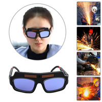 1Set Ultraviolet-proof Portable Solar Powered Auto Darkening Welding Mask Helmet Eyes Goggle Welder Glasses For Protection Machine Tools & Accessories