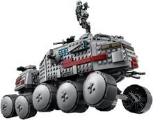 Toys CHINA BRAND L031 self-locking bricks Compatible with Lego Star Wars Clone Turbo Tank 75151 no original box