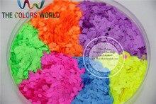 Hexágono TCT 145 Neon Fosco Cor 2.5mm Solvente Resistente Glitter Nail Art Gel Unha Polonês Maquiagem Manual de DIY Artesanato Decoração