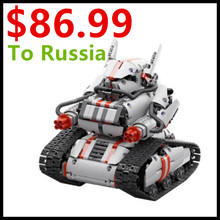 2017 New Mitu Robot Tank Mecha Crawler Base Xiaomi Mitu Building Block Robot Crawler Tank Version Controll By Smartphone Mihome