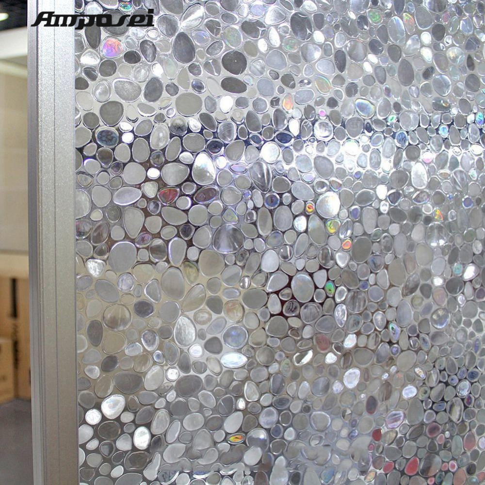 New Arrival Frosted Galet 45 200cm Pvc Windows Glass Film
