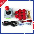 Máquina de Jogo de Arcade Peças DIY para JAMMA MAME & RetroPie: Zero Atraso USB Codificador + Joysticks + Botões + cabos